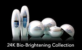 The Orogold 24K Bio-Brightening Collection