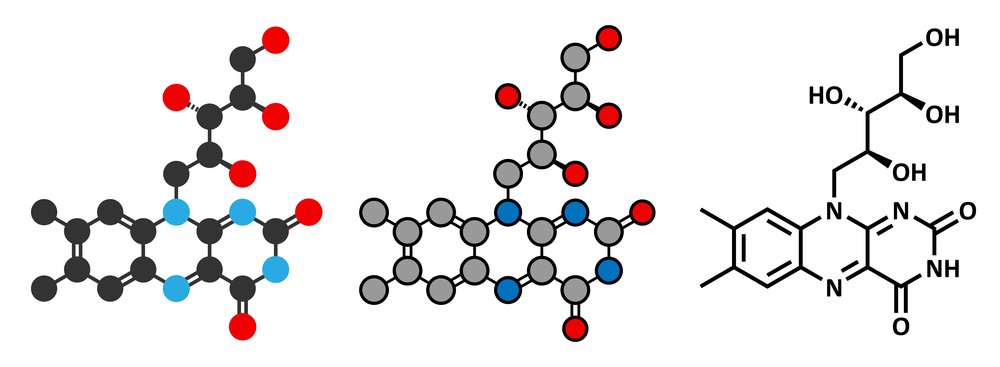 Riboflavin molecules, 2D