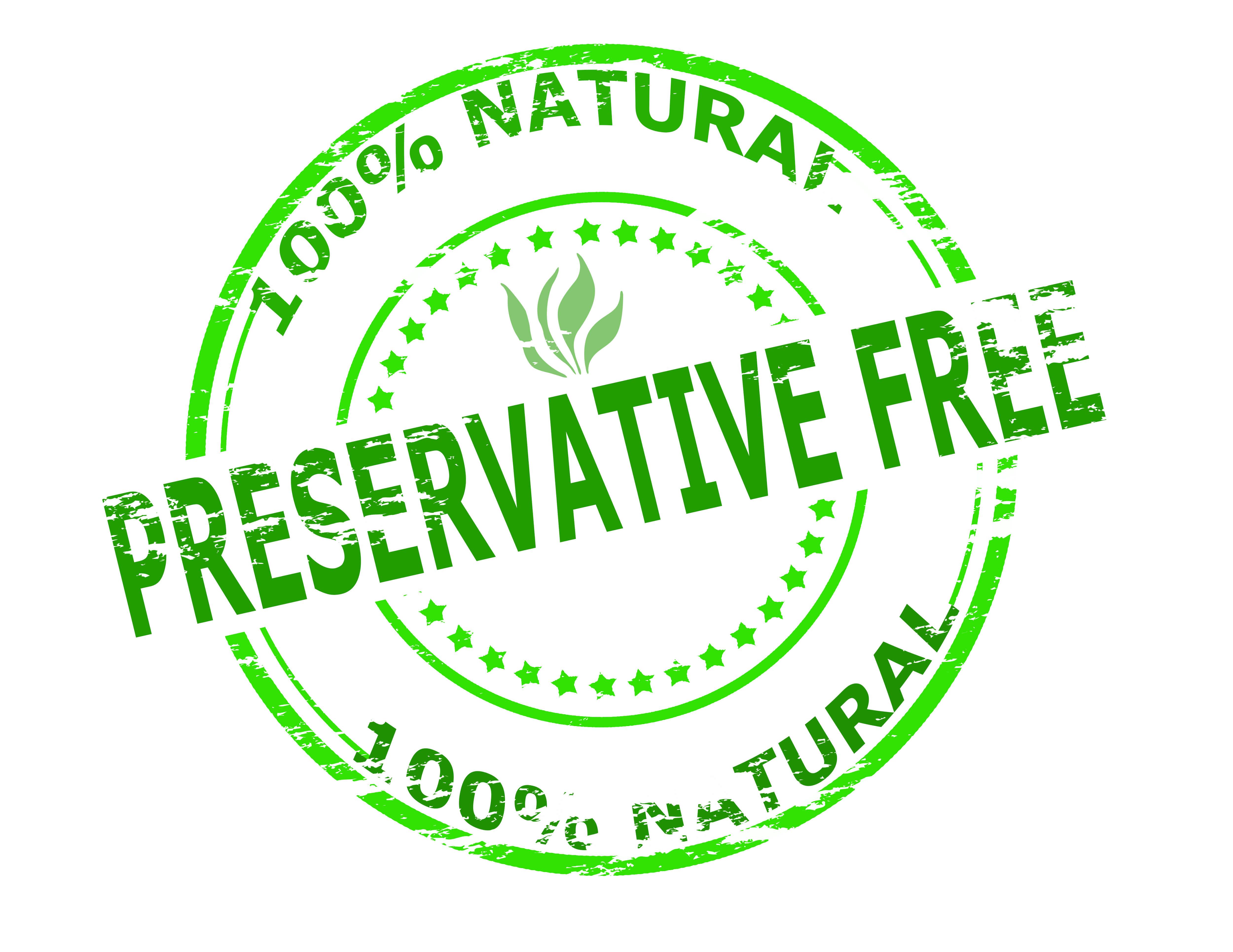 Preservative-free label