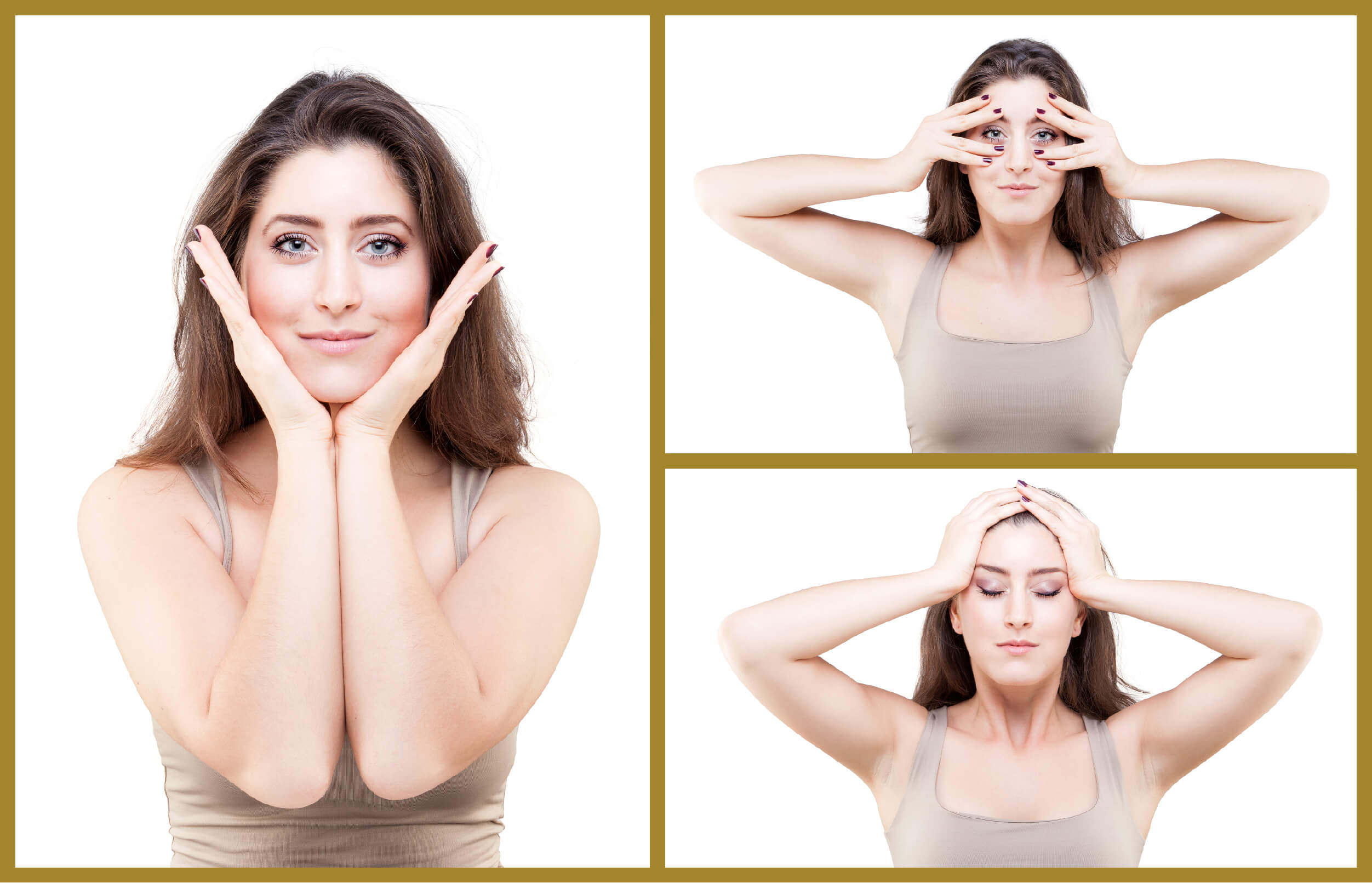 Tutorial on how to do facial yoga